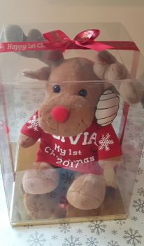 Personalised Christmas Reindeer