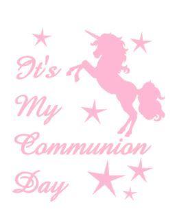Girls Communion Tshirt