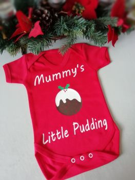 Mummy's Little Pudding Bodysuit