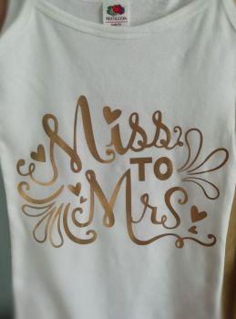 Miss To Mrs Hen TShirt