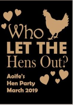 Who Let the Hens out? Hen TShirt