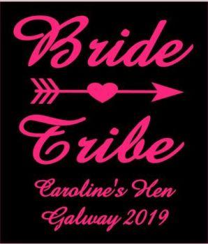 Bride Tribe Hen TShirt