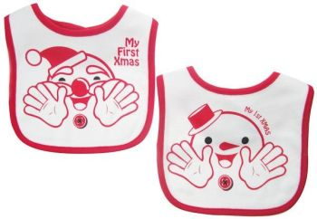 First Xmas bibs (set of 2)