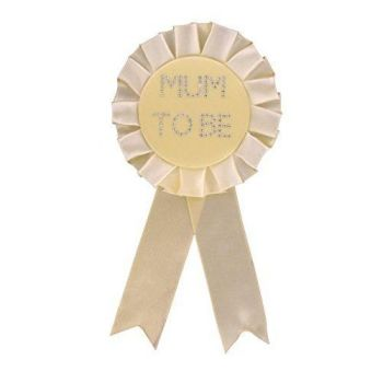 Neutral Mum to Be Rosette