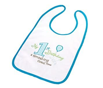 Lillian Rose First Birthday Bib (boy)