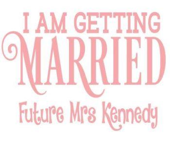 Getting Married Hen Tshirt