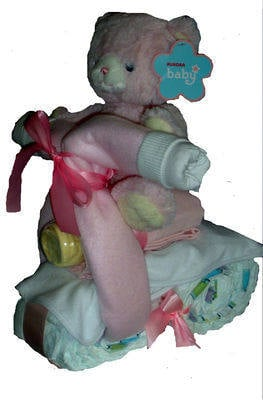 Betsy and her Nappy Cake Bike