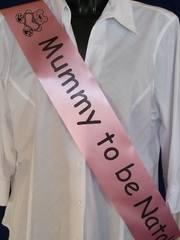 sashes and personalised ribbon 008