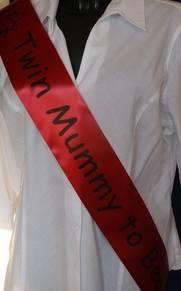sashes and personalised ribbon 050