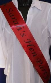 sashes and personalised ribbon 041