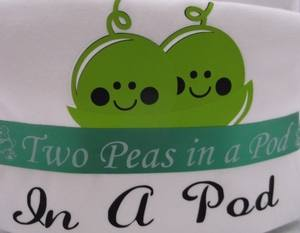 Two peas in a pod nappy cake for twins churchtown gifts Ireland 007