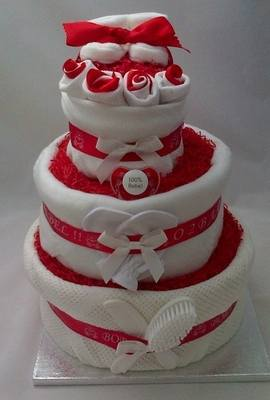 Cork Nappy Cake