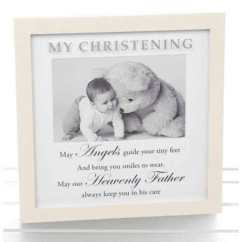 Sentiment Christening Frame - Great value christening gifts at ...