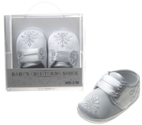 White Christening Shoes