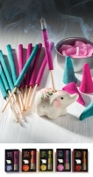 Elephant incense gift set with candle