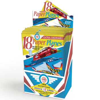 18 Paper planes make & fly
