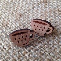 Tea-cup wooden studs