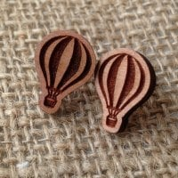 Hot air balloon wooden studs