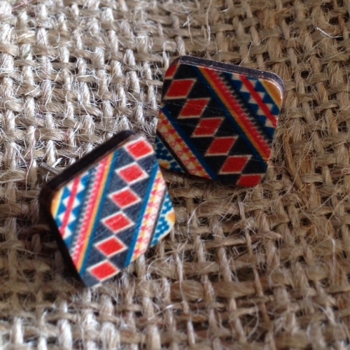 Square Wooden Studs