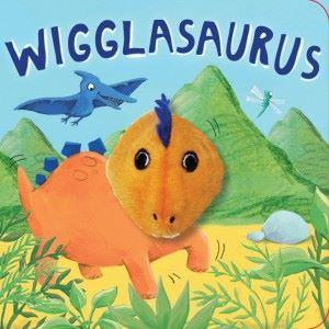 Wigglasaurus Finger Puppet Book
