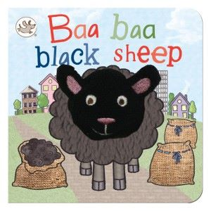 Baa Baa Black Sheep Finger Puppet Book