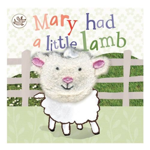 Mary Had a Litttle Lamb Finger Puppet Book