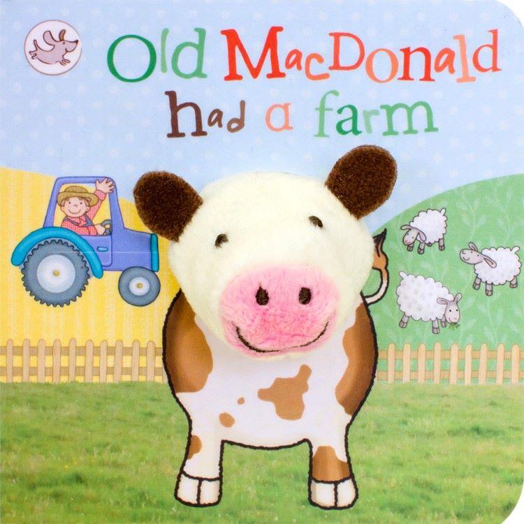 Old Macdonald Had a Farm Finger Puppet Book