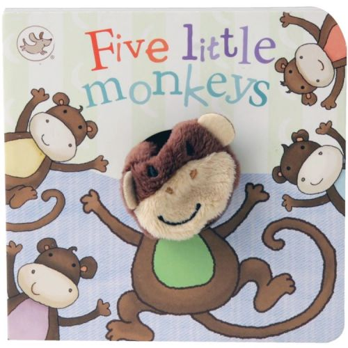Five Little Monkeys Finger Puppet Book