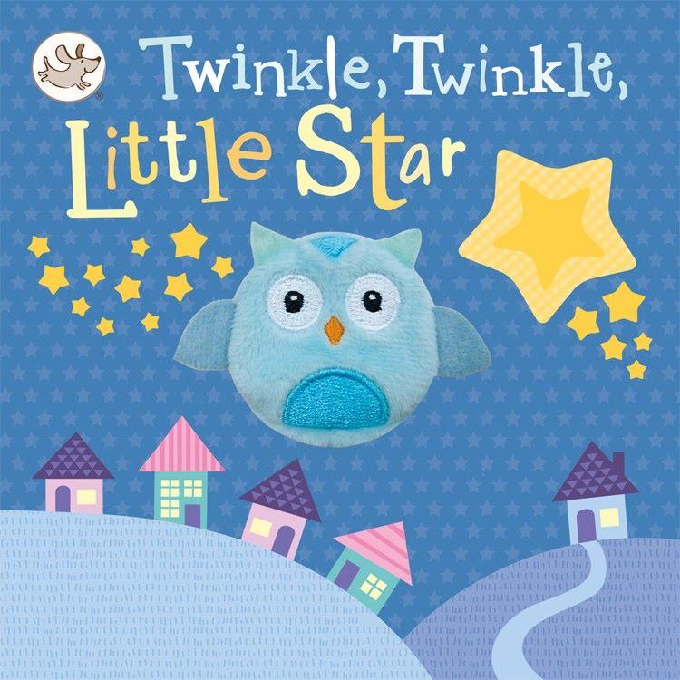 Twinkle Twinkle Little Star Finger Puppet Book