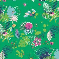 Dashwood Studio Tropical Flowers Cotton Fabric