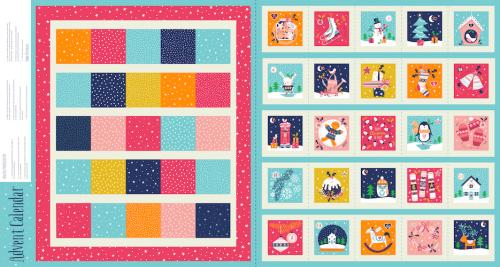 Merry Little Christmas Advent Panel