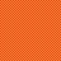 Makower Novelty Orange Polka Dot