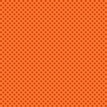 Novelty Orange Polka Dot