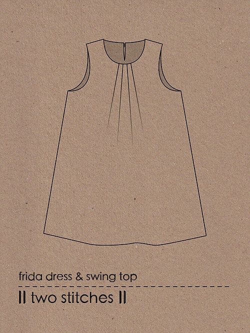 Two Stitches Frida Dress and Top