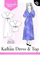 Simple Sew The Kaftan Dress and Top
