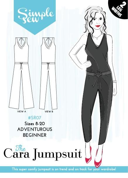 Simple Sew The Cara Jumpsuit