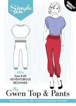 Simple Sew The Gwen Top and Pants