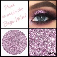 Pink To Make The Boys Wink Glitter Shadow