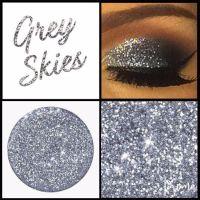 Grey Skies Glitter Shadow