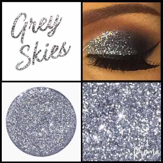 Grey Skies Glitter Shadow