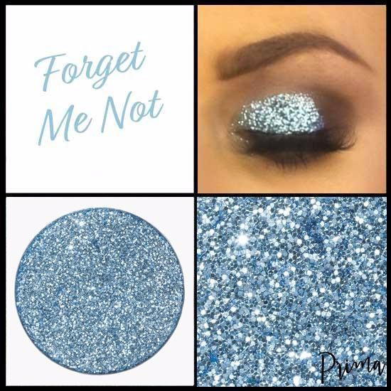 Forget Me Not Glitter Shadow
