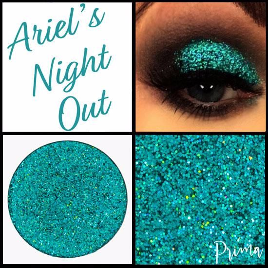 Ariel's Night Out Glitter Shadow