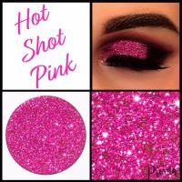 Hot Shot Pink Glitter Shadow