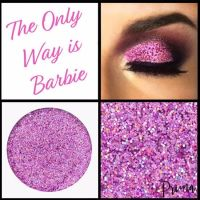 The Only Way Is Barbie Glitter Shadow