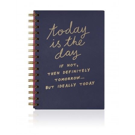 Notes To Self Today is The Day Notebook