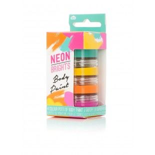 Neon Body Paint Set
