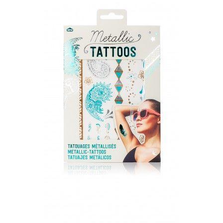 Metallic Jewellery Tattoos
