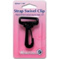 Hemline Swivel Clip 25mm