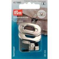 Prym Sliver Turn Clasp Bag Fastening 35mm