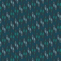Makower Sundance Flame Blue Cotton Fabric